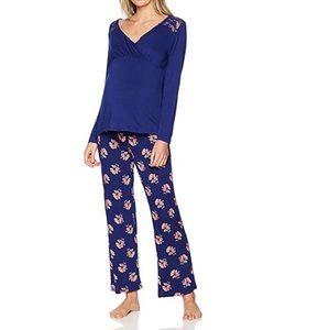 New Lamaze Maternity Nursing Pajamas L/S